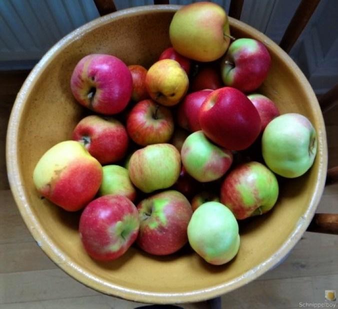 Pfannkuchen mit Apfelmus (3)