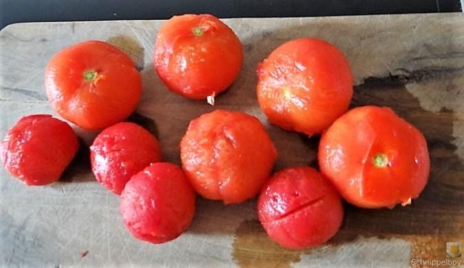 Auberginen-Tomaten Gemüse, Foccacia (20)