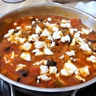 Auberginen-Tomaten Gemüse, Foccacia (25)