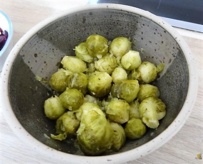Kartoffelgratin,Salate, (5)