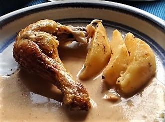 Maishähnchen mit Quitten (20)
