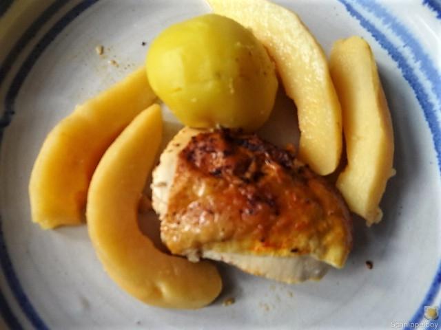 Maishähnchen mit Quitten (3)