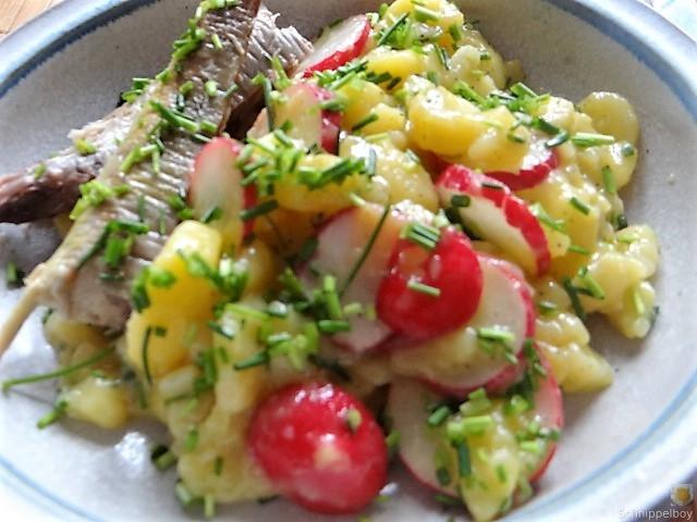 Kartoffelsalat und Makrele (18)