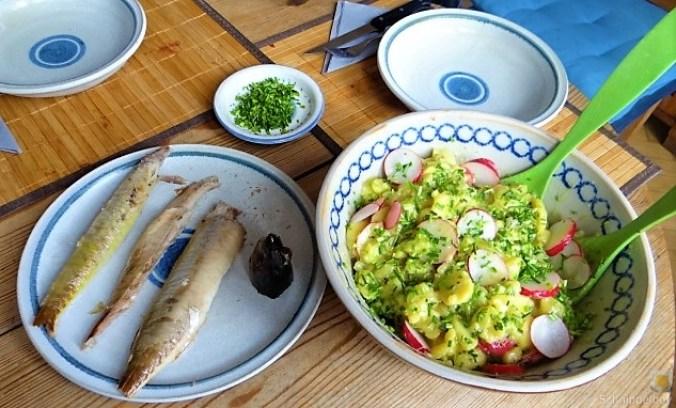 Kartoffelsalat und Makrele (3)