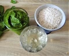 Risotto mit Safran, Salzzitrone und Spinat (9)