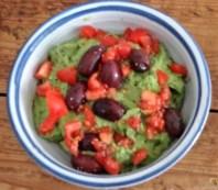 Tomatensalsa,Guacamole,Salat und Ei (10)