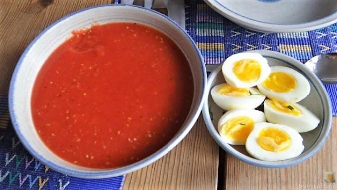 Tomatensalsa,Guacamole,Salat und Ei (5)