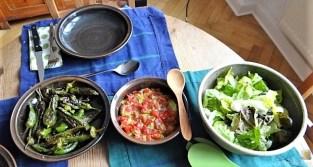 Kürbiscurry,Couscous, Guacamole,Salat (24)