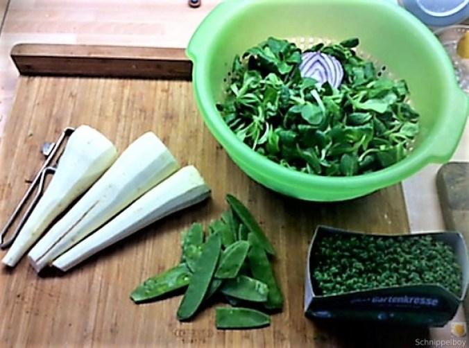Pastinakengemüse mit Tomaten und Kartoffelstampf (4)