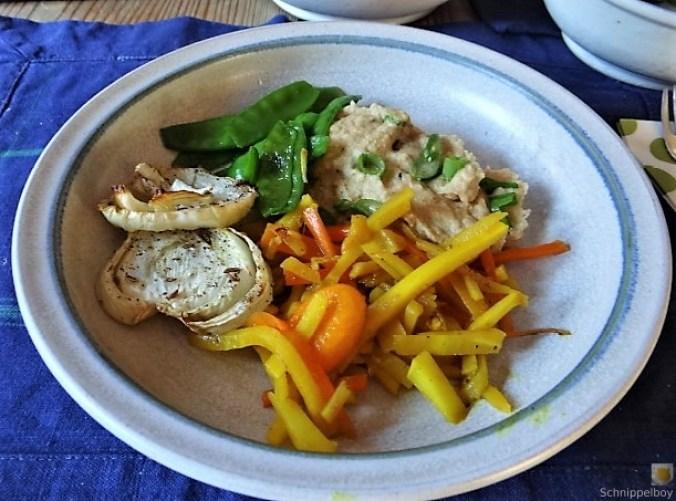 Selleriepürree und Gemüse (21)