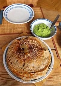 Buchweizenpfannkuchen,Ruccolapesto,Quittenkompott (27)