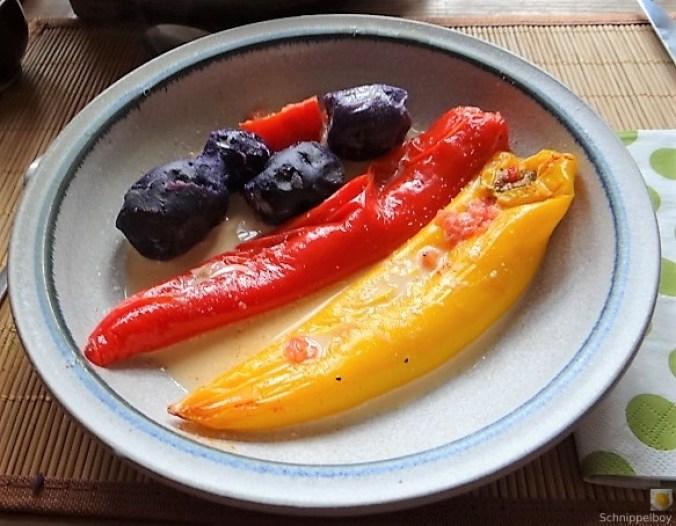 Spitzpaprtka in Wein, blaue Kartoffel (2)
