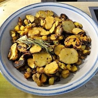 Topinambur,Champignon, Kartoffeln,roh gebraten (16)