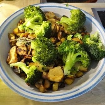 Topinambur,Champignon, Kartoffeln,roh gebraten (17)