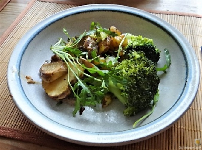 Topinambur,Champignon, Kartoffeln,roh gebraten (20)