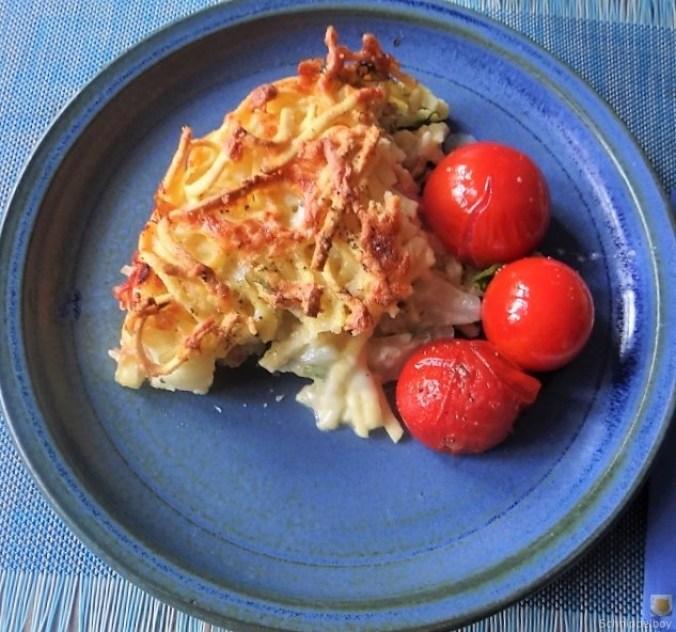 Fenchel Auflauf und Tomaten (2)