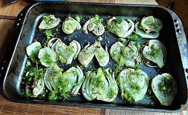 Fenchel,Süßkartoffeln und Champignon (17)