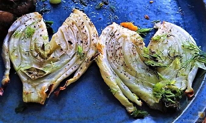 Fenchel,Süßkartoffeln und Champignon (2)