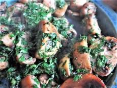 Fenchel,Süßkartoffeln und Champignon (25)