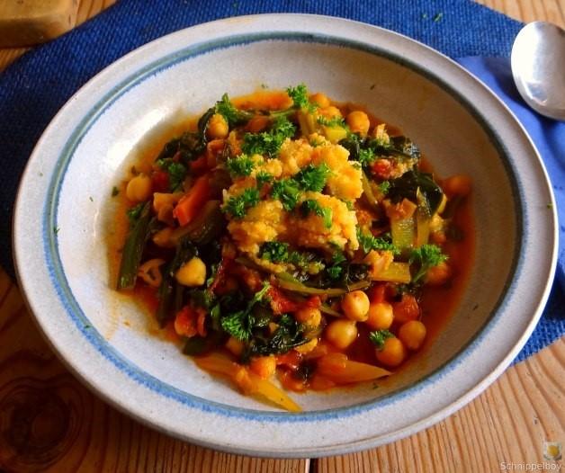 Kichererbsen, Gemüse, Couscous (24)