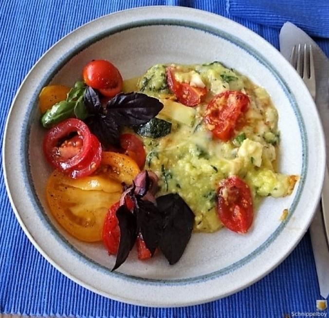 Polenta-mit-Babyspinat-und-Tomaten-1
