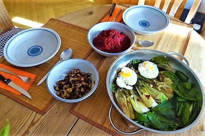 Roter Reis und Gemüse (5)