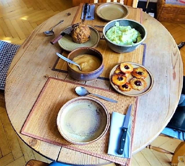 Sellerie,Kartoffelstampf und Apelmus (6)
