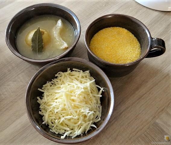 Gebratener Salat mit Polenta (7)