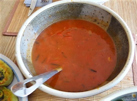 Kartoffel-Bärlauch Schnecken mit Tomatensauce (5)