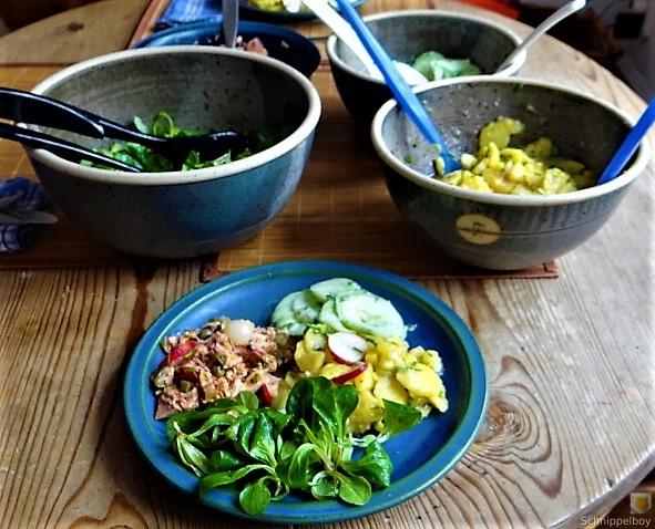 Kartoffel-Thunfisch-Feld- Gurkensalat (11)