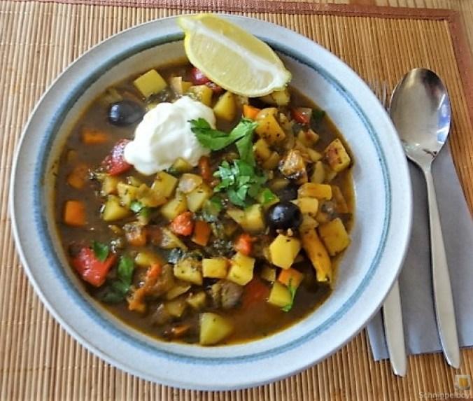Kartoffelgulasch mit Bärlauch (1)