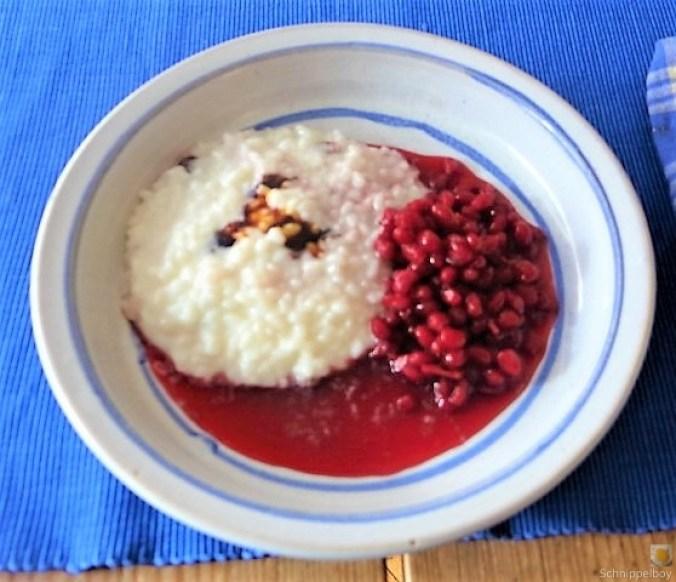 Reisbrei mit Granatapfel Kompott (14)