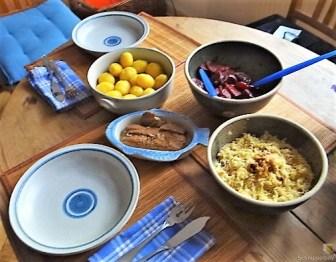 Waldorfsalat, Rote Bete Salat, Brathering (23)