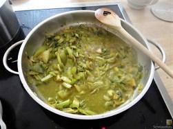 Bohnen-Bleichsellerie Pfanne und Putenschnitzel (12)