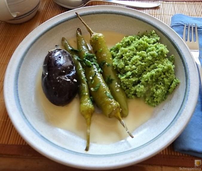 Gemüse mit Bärlauch Couscous (15)