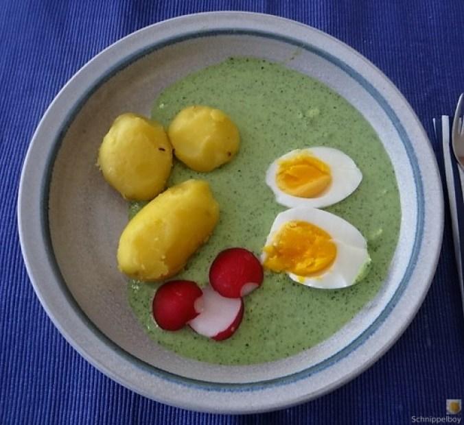 Grüne Sauce mit Wildkräutern (1)