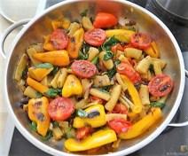 Gemüse-Nudel Pfanne (10)