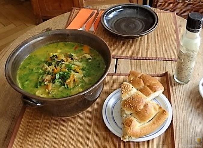 Gemüsesuppe mit Glasnudeln (23)