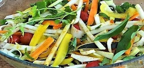 Hähnchenbrust im Gemüsebett (4)