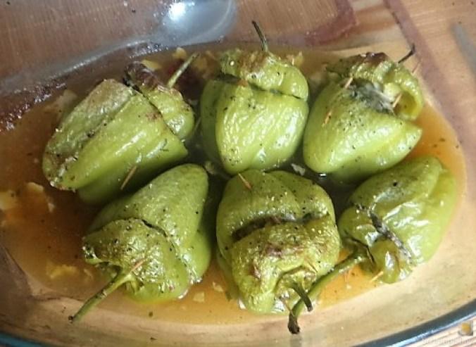 Paprika,grün,gefüllt (16)