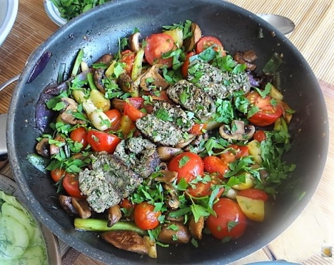 Pilze und Tomaten (15)