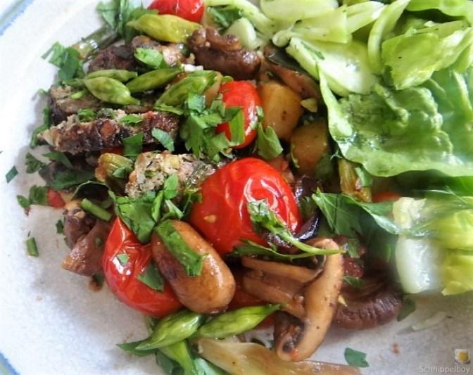 Pilze und Tomaten (3)