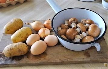 Rösti,Ei und Champignon (10)