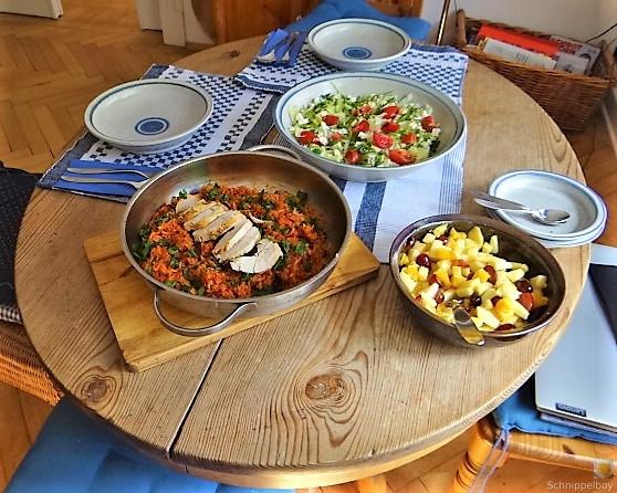 Tomatenreis und Salat (13)