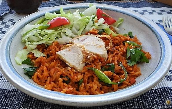 Tomatenreis und Salat (16)