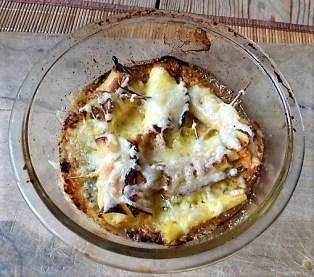 Zucchini und Kartoffelröllchen mit Fetacreme (18)