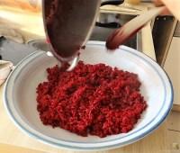 Roter Reis mit Chinakohl und Garnelen (13)