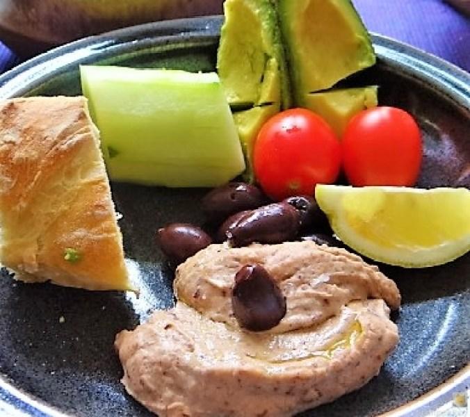 Baguette, Humus, Snack (14)