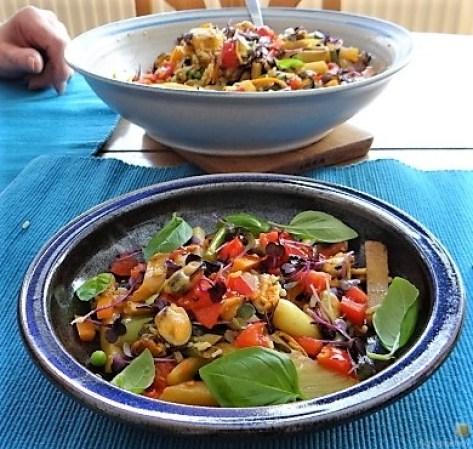 Gemüse,Reis,Muscheln (5)