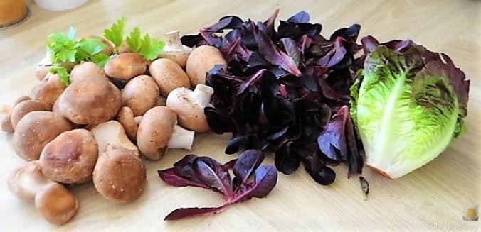 Kartoffel Zoodles und Shiitake-Champignon Pfanne (7)